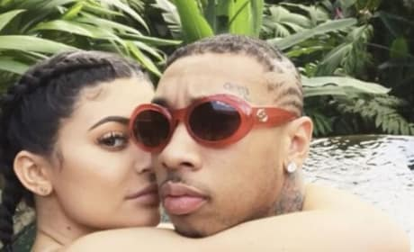 Kylie Jenner and Tyga in Costa Rica