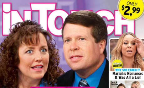 Jim Bob & Michelle Duggar Tabloid Image