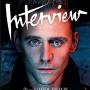 Tom Hiddleston On October's Issue of Interview