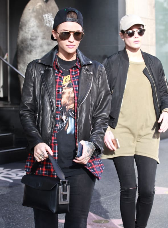 Ruby Rose Steps Out With New Girl