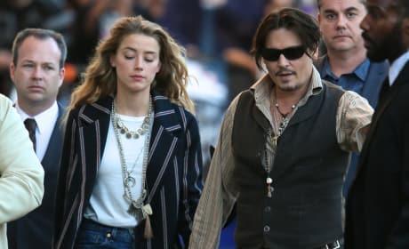 Johnny Depp, Amber Heard Image