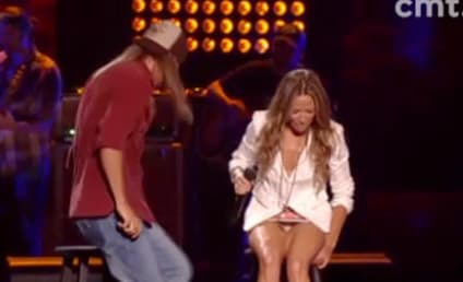 Sheryl Crow Flashes Underwear at CMT Awards