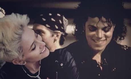 Paris & Michael Jackson Image