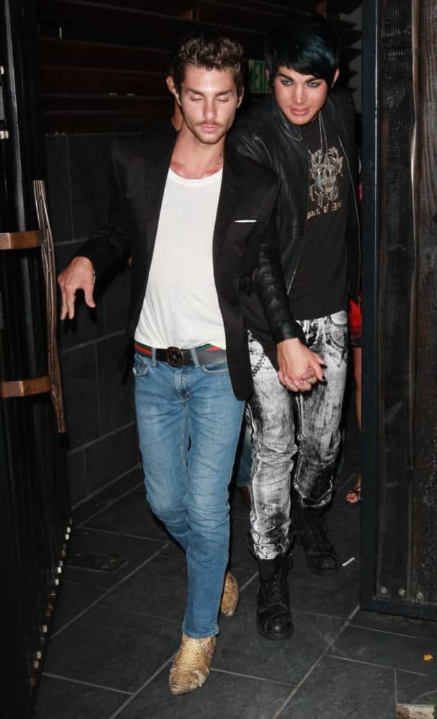 Adam Lambert and Drake LaBry