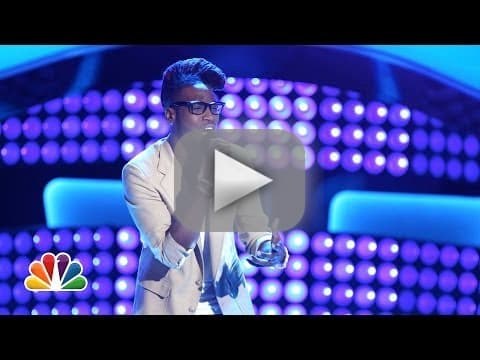 "Delvin Choice: ""A Song for You"" (The Voice Audition)"