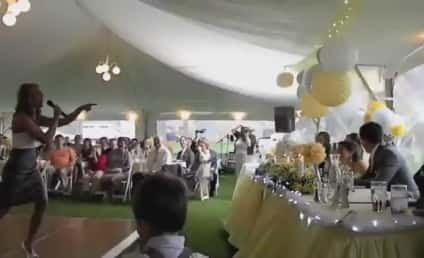 "Maid of Honor Remixes ""Ice Ice Baby"" in Amazing Wedding Speech"