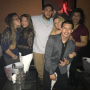 Javi Marroquin and Cassie Bucka with Friends