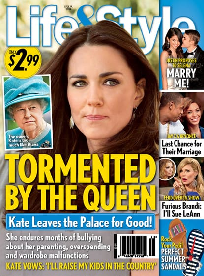 Kate Middleton: Tormented by The Queen?