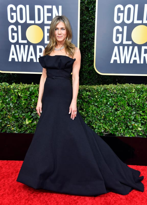 Jennifer aniston at the globes