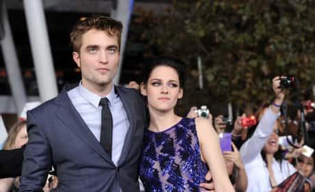 Kristen Stewart Robert Pattinson Twilight Breaking Dawn Part 2