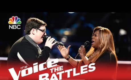 Jordan Smith vs. Regina Love (The Voice Battle Round)