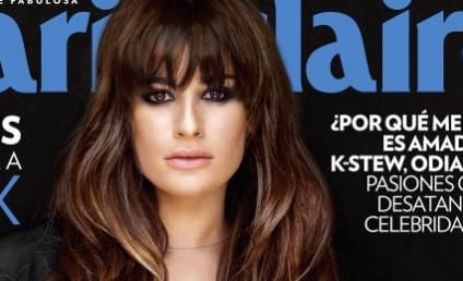 Lea Michele Gushes Over Cory Monteith in Pre-Death Marie Claire Interview
