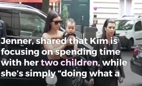 Kris Jenner Speaks on Kim Kardashian