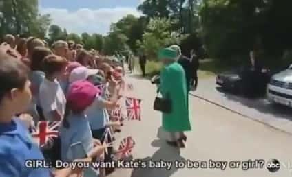 Queen Elizabeth to Royal Baby: Move it Along Already!