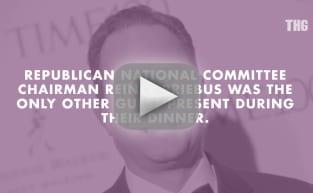 Mitt Romney Dines with Donald Trump