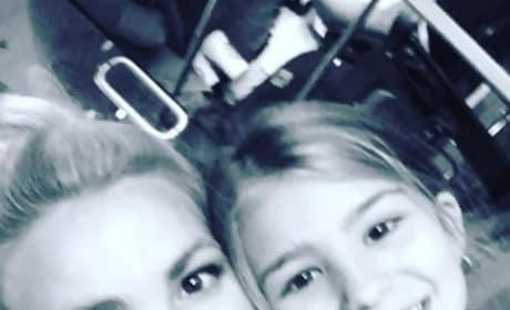 Jamie Lynn Spears and Daughter See Gaga