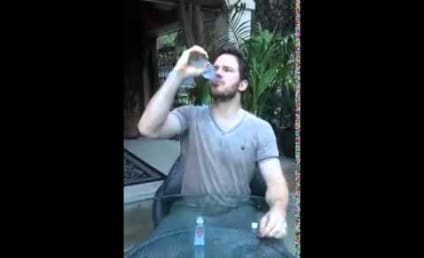 Chris Pratt Downs Vodka, Accepts Ice Bucket Challenge