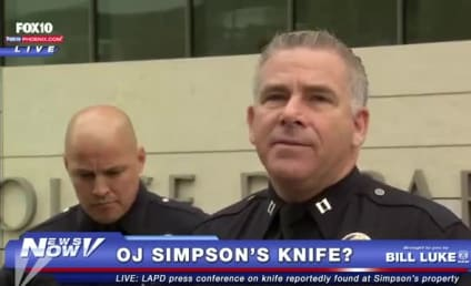 O.J. Simpson: LAPD Confirms Discovery of Possible Murder Weapon