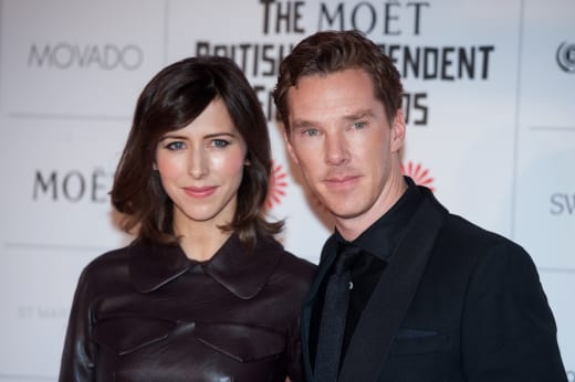 Benedict Cumberbatch, Sophie Hunter Pic