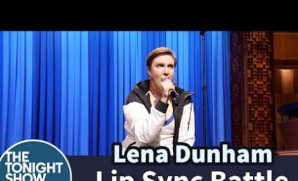 Lena Dunham Lip Sync Battles Against Jimmy Fallon