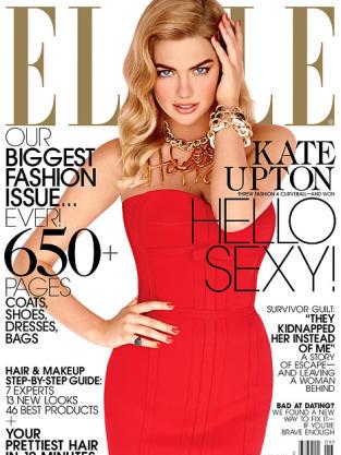 Kate Upton Elle Cover