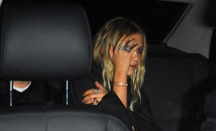 Mary-Kate Olsen Drives ... and Smokes
