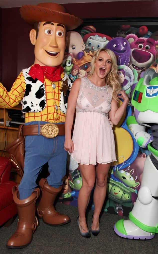 Britney Having a Blast