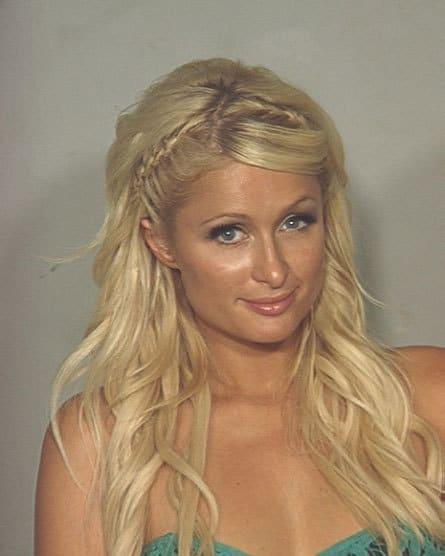 New Paris Hilton Mugshot