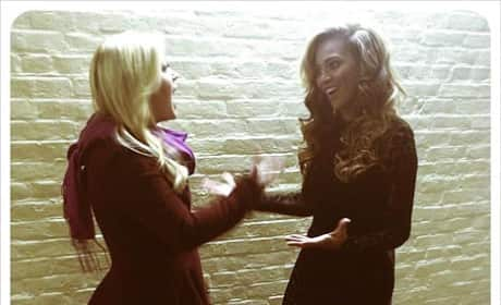 Kelly Clarkson and Beyonce