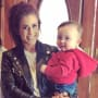 Chelsea Houska with Son