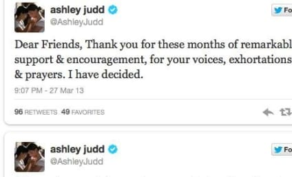 Ashley Judd Senate Run Not Happening, Actress Confirms