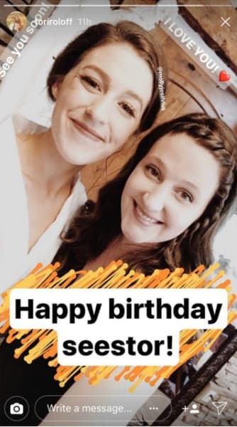 Tori Roloff Wishes Molly Roloff a Happy Birthday