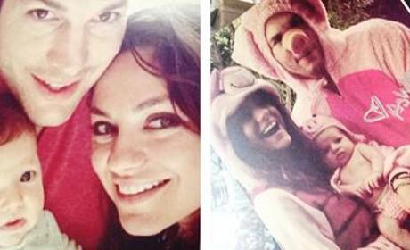 Ashton Kutcher and Mila Kunis, Baby