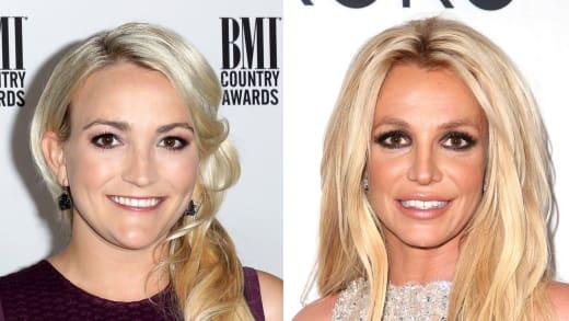 Britney and Jamie Lynn