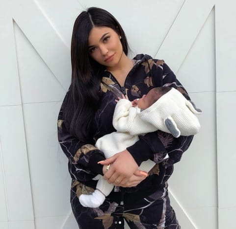 Kylie Jenner and Stormi Webster, Close Up
