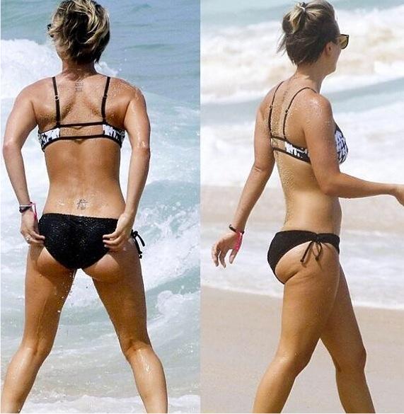 Kaley Cuoco Butt Shots