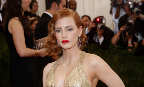 Jessica Chastain at MET Gala