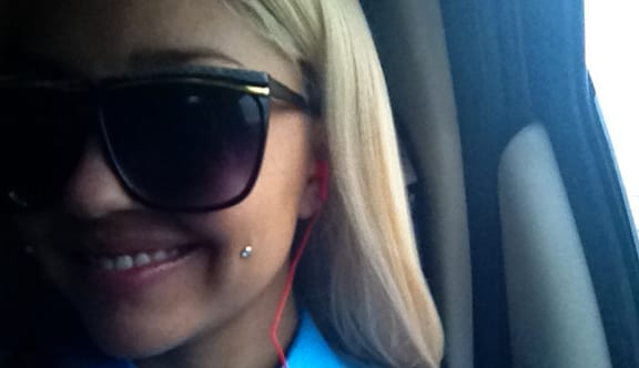 Amanda Bynes Pierced Cheek