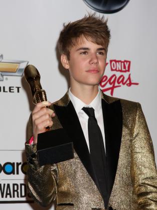 Justin Bieber at the Billboard Music Awards