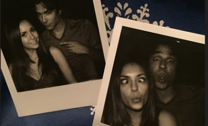 Nina Dobrev and Ian Somerhalder Say Cheese, Put to Rest Rivalry Rumors