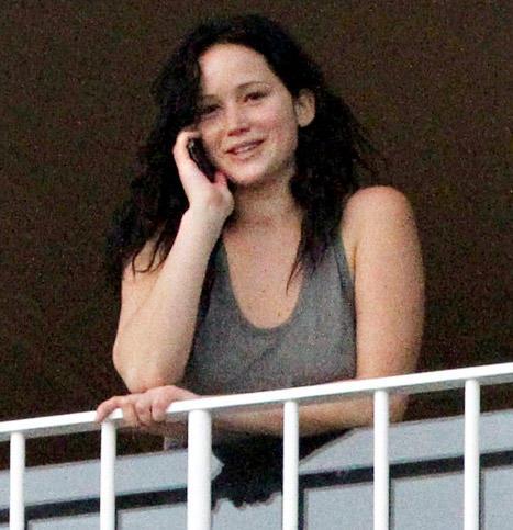 Jennifer Lawrence, No Makeup