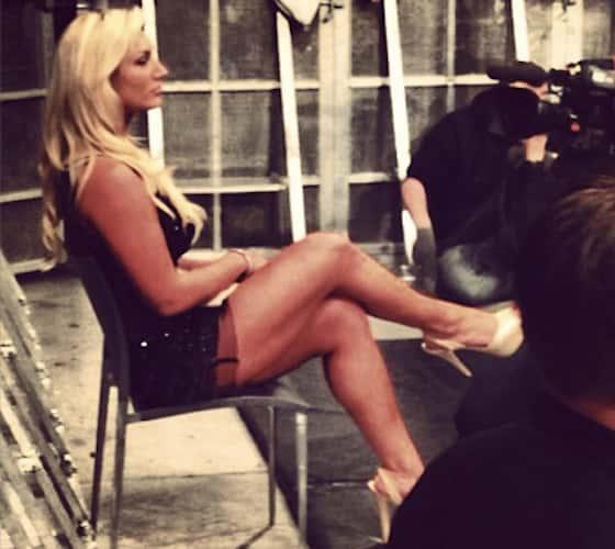 Hulk Hogan On Daughter Nice Legs The Hollywood Gossip