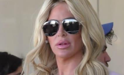 Kim Zolciak: Tight Pants and Loose Lips at LAX