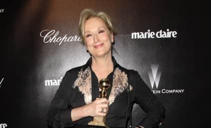 Golden Globes Fashion Face-Off: Meryl Streep vs. Helen Mirren