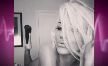 Courtney Stodden Posts Naked Selfie