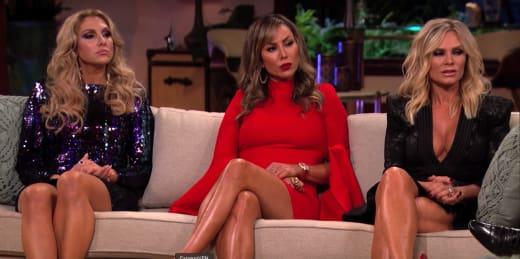 Gina Kirschenheiter, Kelly Dodd, and Tamra Judge