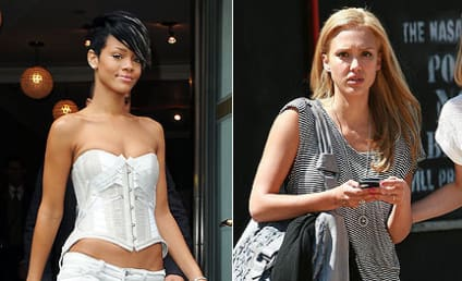 Celebrity Fashion Face-Off: Rihanna vs. Jessica Alba