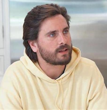Scott Disick in Yellow