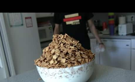 Matt Stonie Just Ate THREE POUNDS of Cinnamon Toast Crunch in One Sitting