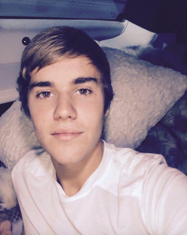Justin Bieber I Love You Face